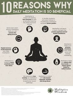Benefits of meditation. Why is meditation good for you? Meditation has so many healthy effects on the body and mind. Meditation helps reduce anxiety, repairs memory, reduces stress and more. Guided Meditation, Meditation Benefits, Meditation Practices, Relaxation Meditation, Meditation Quotes, Meditation Music, Meditation Timer, Reiki Meditation, Mindfulness Meditation
