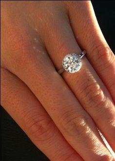 I want this!    Tacori 2639rd75 Plain Shank Halo. Hearts and Arrows Diamond