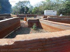 Variando a Rotina: Bioconstrução: Hiperadobe