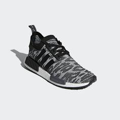 adidas NMD R1 Primeknit Shoes - Black  b753fc080