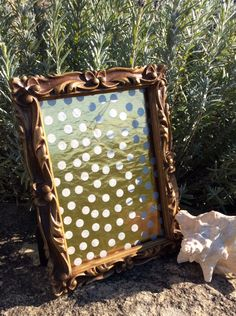 Vintage Art Nouveau, Ornate, Aged Gold, 5 x 7 Picture Frame, Hollywood Regency Decor, Cottage Chic, Glam by YellowHouseDecor on Etsy https://www.etsy.com/listing/255941319/vintage-art-nouveau-ornate-aged-gold-5-x