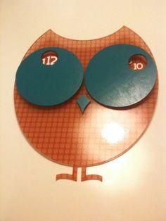 #owl #clock