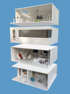 MiPad  - The Original and first doll's house you can build one floor at a time.  The concept was originated by Elaine Shaw in 2012 and launched on Kickstarter.com in November 2013. ...