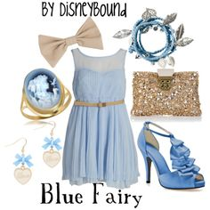 Blue Fairy from Pinocchio.  Very pretty, the bracelet, ring, & shoes especially.