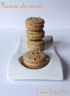 Il Goloso Mondo di Minu': Macarons alla nocciola!!!