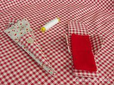 La casita de Rosa: Tutorial bolsa de costuras Tie Clip, Sewing, Diy, Accessories, Ideas Creativas, Ideas Para, Couture, Farmhouse Rugs, Scrappy Quilts