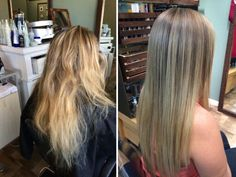 Color by Breanna at Breez Salon. Brazilian Blowout by Sue at Breez Salon. We have a great team here in New Smyrna Beach!