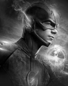 Flash Poster Standup 4inx6in black and white