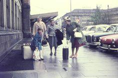 Am Bahnhof in Hannover, 1970   Bildrechte: WDR/christiana34