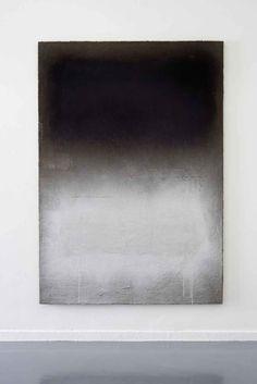 Marc Bijl, Afterburner (after Mark Rothko), 2011, canvas, spraypaint, plaster. Courtesy Reinhard Hauff, Stuttgart. via