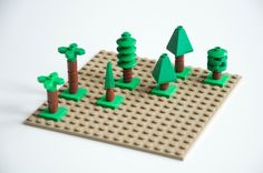 Microscale trees for alternative Heroica levels: A LEGO® creation ...
