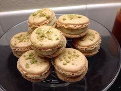 Green tea kitkat French macarons!