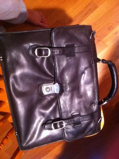 Soft leather brief case in Aida's Garage Sale in Woodinville , WA for $20. Soft leather brief case. Very nice in good condition.
