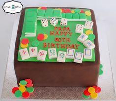 Mahjong Game Cake by Cake Bash Studio & Bakery Sherman Oaks