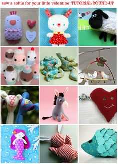 Shoe box stuffie tutorials -- lots of different ones here! The children who receive your shoe boxes will love their new stuffies!
