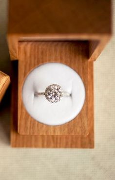 Brilliant Earth has gorgeous engagement rings!
