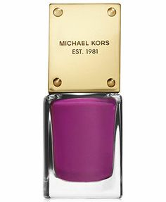 Michael Kors Glam Nail Lacquer - A Macy's Exclusive (color shown is Envy)