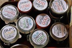 very nice canning labels