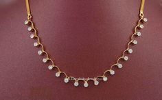 Diamond Necklace Design 1 lakh