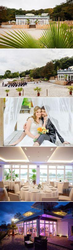 Super schöne Hochzeitslocation Köln Seepavillon Sonderkonditionen