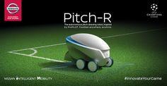 Eine süße Meldung für zwischendurch. Eigentlich hat sich Nissan diesen kleinen Roboter für das UEFA Champions League Finale ausgedacht. Der PitchR könnte doch aber auch auf der ganz großen Bühne der Weltmeisterschaft mitspielen, oder?