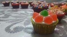 Cupcake de Zanahoria con gomitas