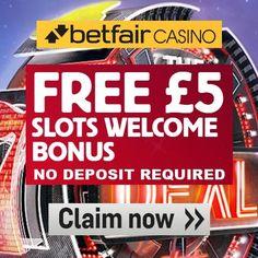 Betfair Casino Promo Code £5 No Deposit Required Bonus - Betfair Promo Codes