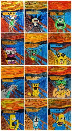 Plastiquem: artista Edvard Munch