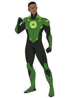 Commish - Manbeast by Harseik on DeviantArt John Stewart, Green Lantern Corps, Fantasy Comics, New 52, Superhero Design, Dc Heroes, Black Power, Hero Arts, The Flash