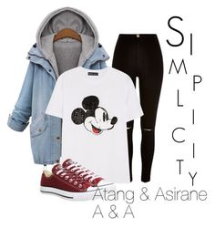 """""""Simplicity is everything!"""" by asirane-nyame on Polyvore featuring Amaya, River Island, Markus Lupfer, Converse and aspiringfashionblogger"""