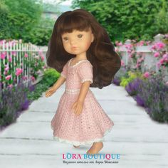 Вязаное платье крючком для куклы Berjuan Doll Clothes, Boutique, Dolls, Vintage, Style, Fashion, Moda, La Mode, Puppet
