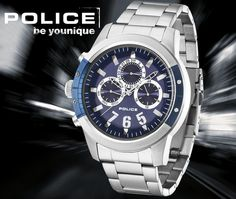 POLICE KICKER Police Watches, Glamour, Breitling, Younique, Gentleman, Accessories, Cushion Wedding Bands, Jewels, Gentleman Style