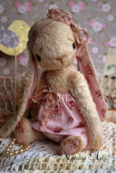 Я верю в чудеса :))) - бежевый,зайка,зайчик,зайчонок,тедди,друзья тедди