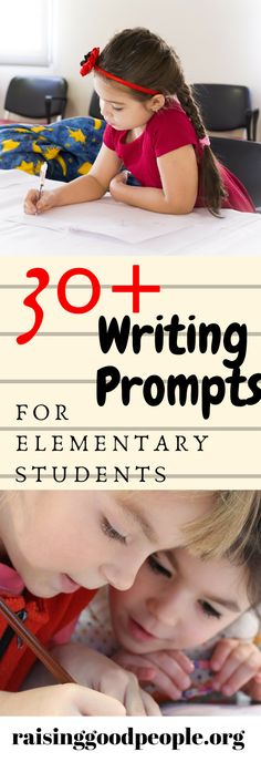 Get your students writing with these writing prompts to get kids writing.