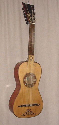 Guitarra de Lorenzo Alonso, año 1785 (Madrid). De la época de Sor y Giuliani.