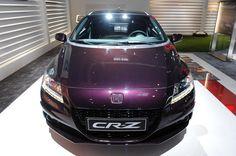 Немножко обновленная 2013 Honda CR-Z