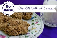 No Bake Chocolate Oatmeal Cookies from Marty's Musings