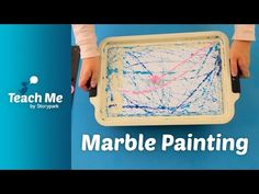 Teach Me: Marble Painting - YouTube Marble Painting, Learning Activities, Early Childhood, Classroom, Teaching, Education, Children, Paper, Creative