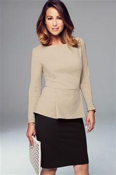 Workwear by Next modelled by Rachel Stevens