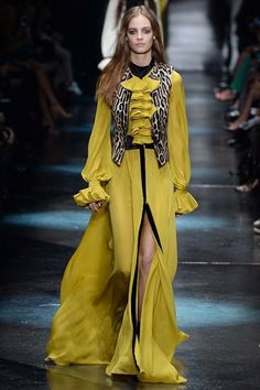 The Lucky Butterfly: Roberto Cavalli  Autumn/Winter 2015-2016 Ready-To-...