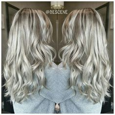 ash blonde balayage hair - Google Search