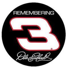 Dale Earnhardt #3 sticker.  #DaleEarnhardtArt http://www.pinterest.com/jr88rules/dale-earnhardt-art/