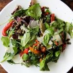 Marinated Pepper Salad with Basil, Capers