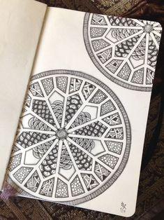 Sten-doodled tangles - Gwen Lafleur