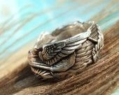 Winged ring.