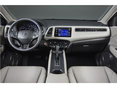 2017 Honda HR-V:141-horsepower 1.8-liter four-cylinder engine,Its shifting is smooth and it has a light clutch pedal. However, the CVT also operates well with the HR-V's lackluster engine.