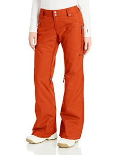 Oakley Women's Brookside Insulated Pant, Flame, Large