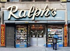 Store Front: New York's Disappearing Face