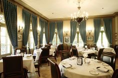 Club 33: The Main Dining Room