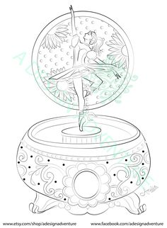 100% Free Ballerina and Ballet Dancer Coloring Pages